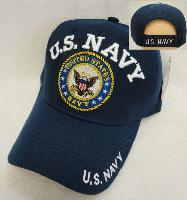Licensed US Navy Hat [Seal] *Blue Only